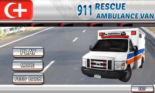 911救援救护面包车