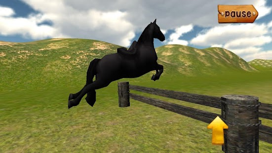 Forest Horse Jumping- screenshot thumbnail