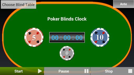 Poker Blinds Clock Free