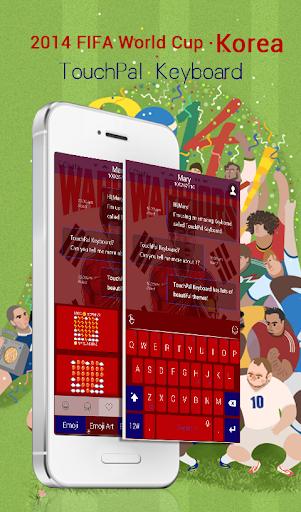 玩免費運動APP|下載TouchPal Korea_FIFA Theme app不用錢|硬是要APP