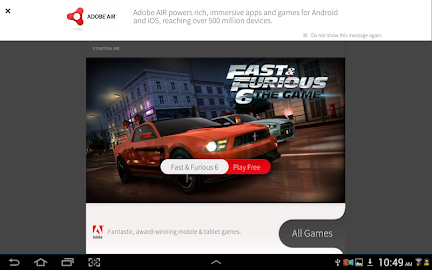 Adobe AIR Screenshot 1