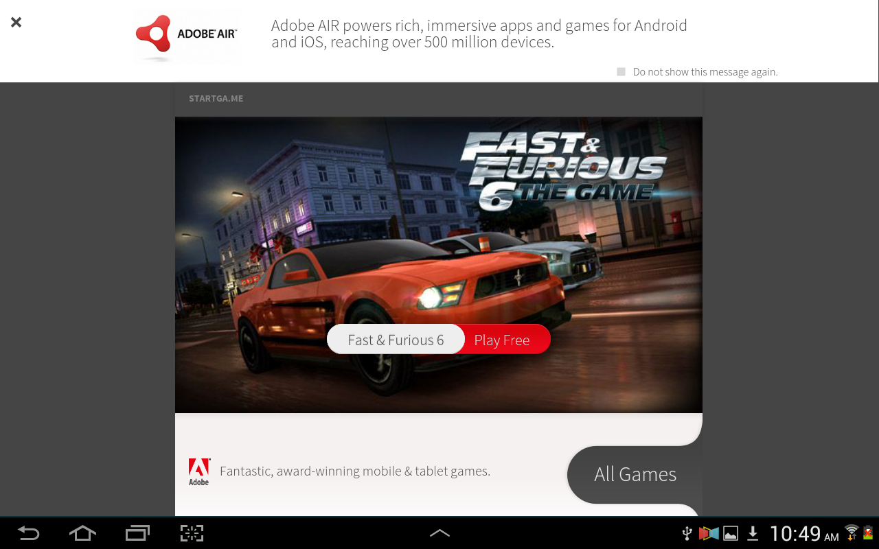 Adobe AIR - screenshot