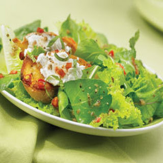 Goat Cheese Bruschetta Salad