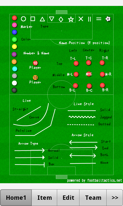 Football Tactics Android- screenshot
