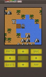 Gurk II, the 8-bit RPG - screenshot thumbnail