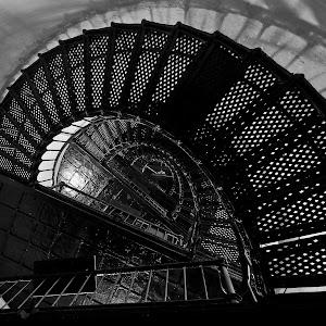 Hunting Island Lighthouse 5a B&W.jpg