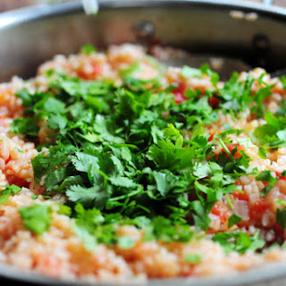 Basic Mexican Rice.