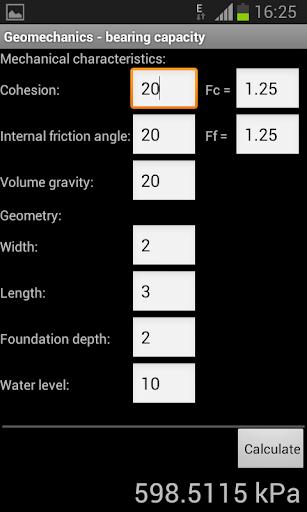 Geomechanical tools
