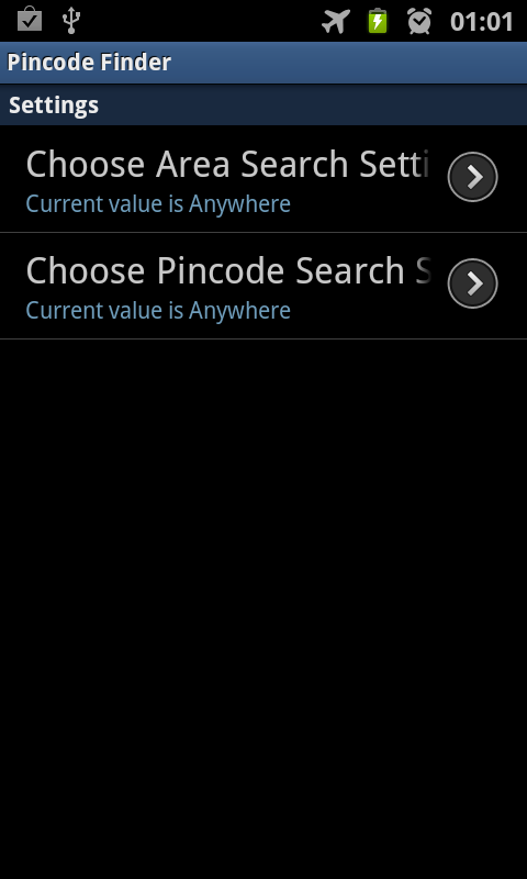 Pincode Finder - screenshot