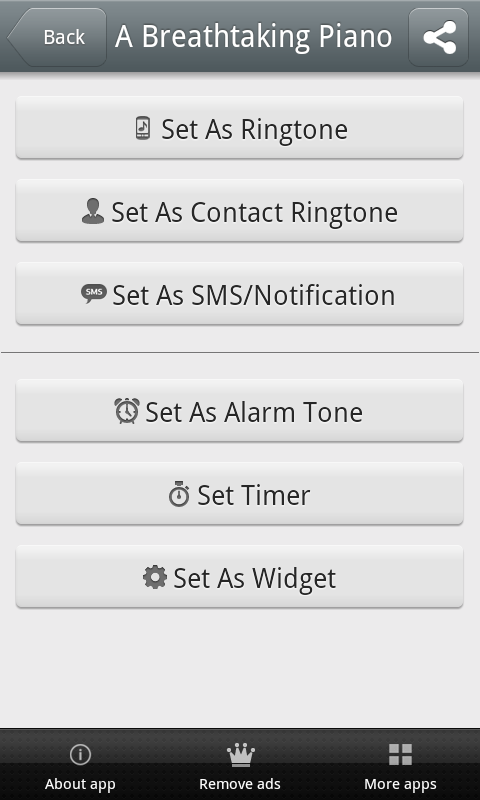 Piano Music Ringtones Free - screenshot
