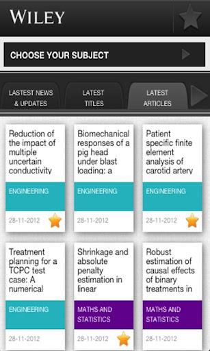 Wiley Live: News Updates App