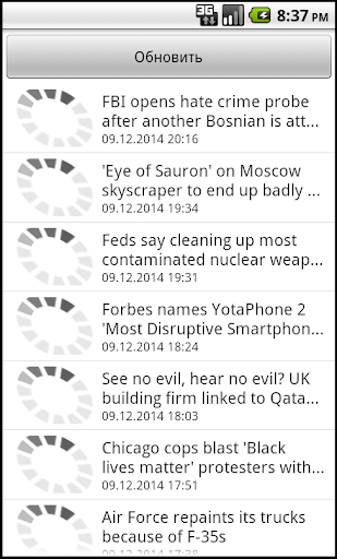 Russian News Today