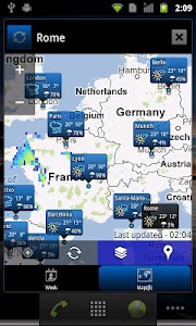 World Weather Clock Widget v6.020