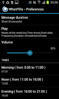 Screenshot of NFC Talking Pill Reminder