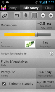 Mighty Grocery Shopping List - screenshot thumbnail