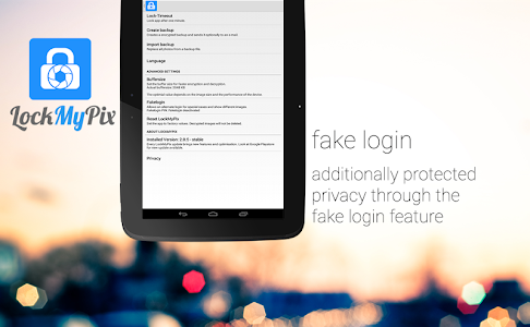 Hide pictures with LockMyPix v2.8.4