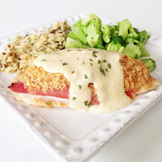 Easy Skinny Chicken Cordon Bleu