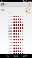 Screenshot of Wine Vintages