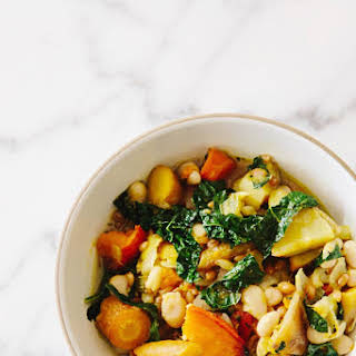 Roasted Fall Vegetable Stew from At Home in the Whole Food Kitchen.