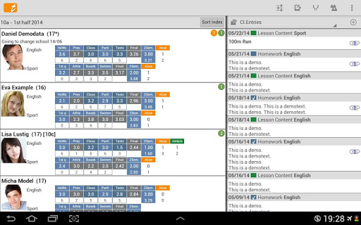 TAPUCATE - Teacher App screenshot