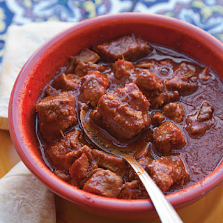 Carne Adobada (Red Chile and Pork Stew).