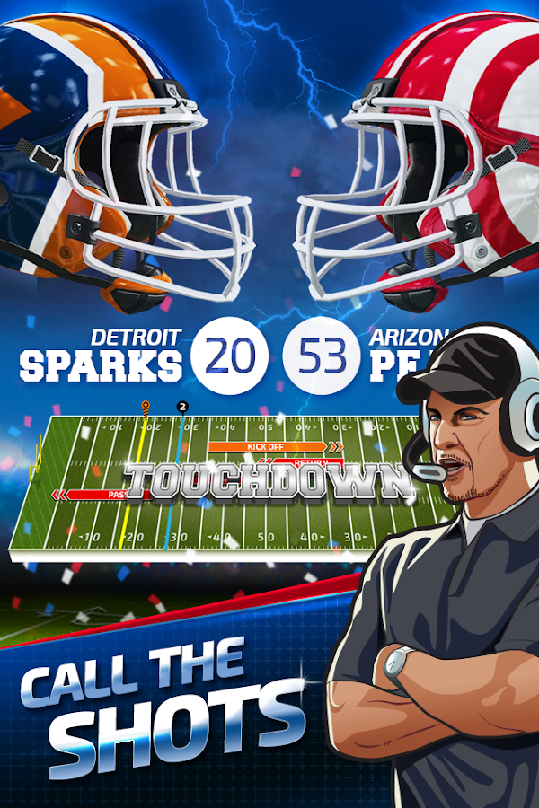 Screenshots of All Star Quarterback for Android