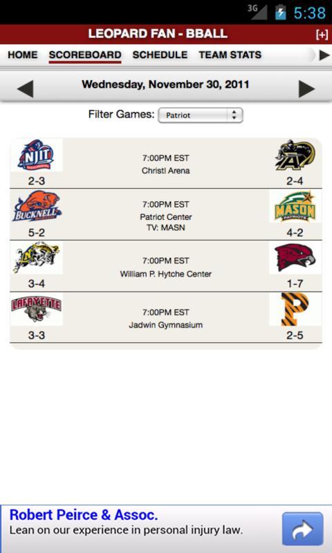 LAF Football & Basketball - screenshot