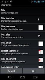Meta Widget Screenshot 2
