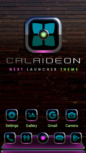 Next Launcher Theme CALAIDEON
