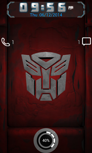 Autobot 6 Go Locker theme