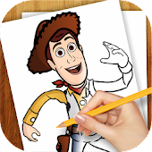 Game Learn to Draw Toy Story ver. APK for Kindle