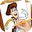 Learn to Draw Toy Story ver. for Lollipop - Android 5.0