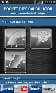Pipe Fitter Calculator - screenshot thumbnail