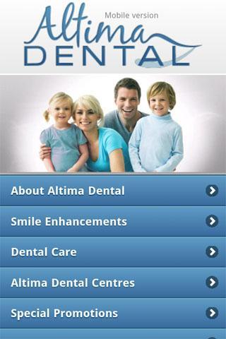 Altima Dental- screenshot