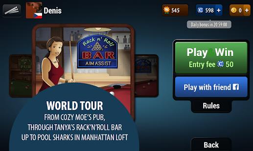بازی ورزشی بیلیارد حرفه ای Pool Live Tour 1.2.0