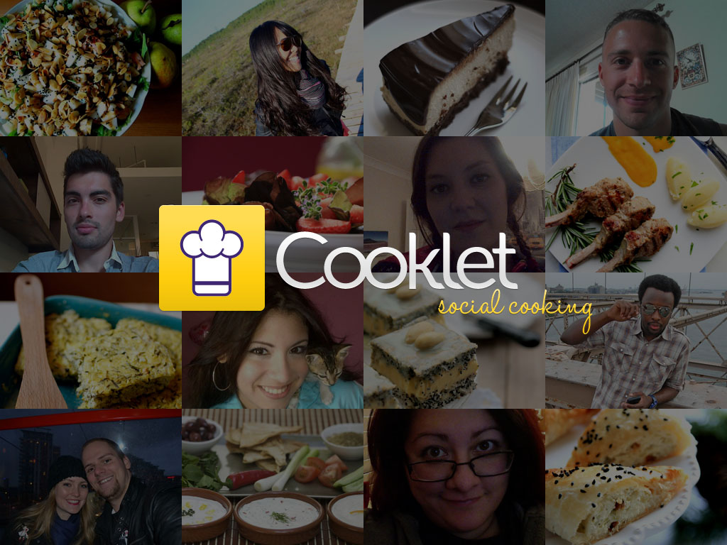 Cooklet for tablets- screenshot