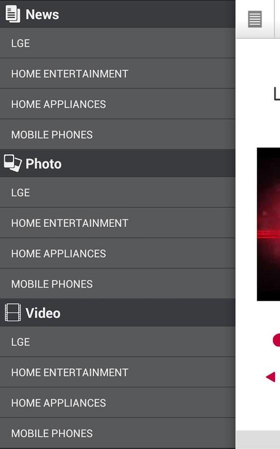 LG CES - screenshot