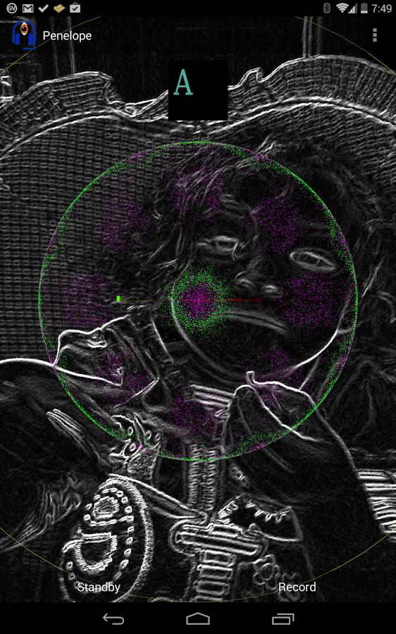 Penelope RT Audio Processor - screenshot
