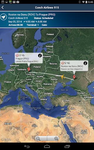 Prague Airport Premium+Tracker