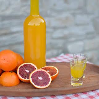 Blood Orange Liqueur Drinks Recipes.