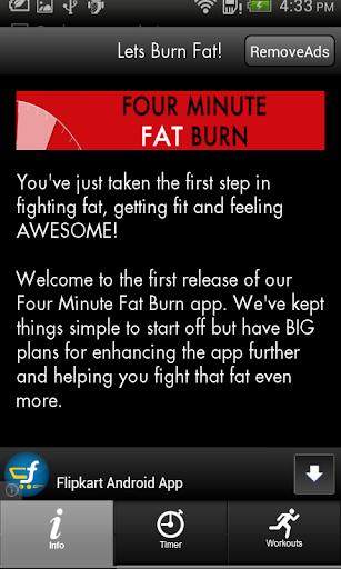 Four Minute Fat Burn