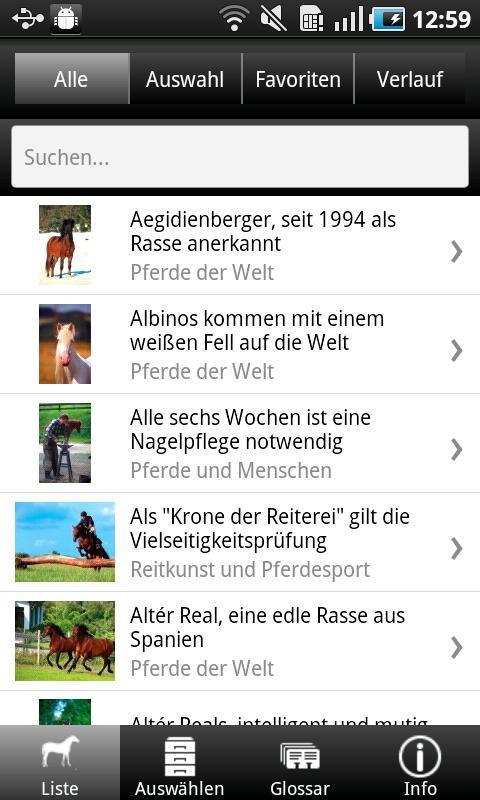 1000 Pferde aus aller Welt- screenshot