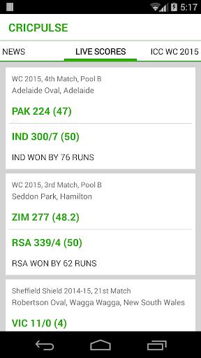 CricPulse: Best cricket app