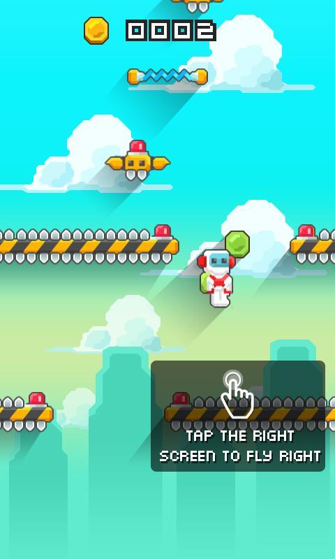 Jetpack Crush Saga - screenshot