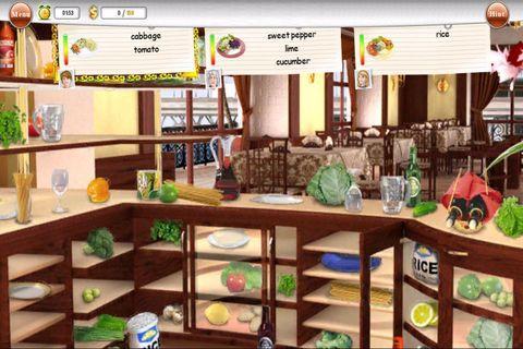 Игра Гурмания для планшетов на Android