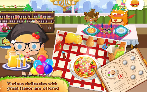 Candy's Restaurant для планшетов на Android