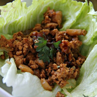 Copycat P.F. Chang's Chicken Lettuce Wraps.