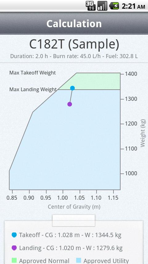 Weight & Balance - screenshot