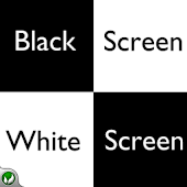 Black Screen White Screen