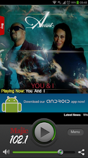 Majic 102.1 - screenshot thumbnail